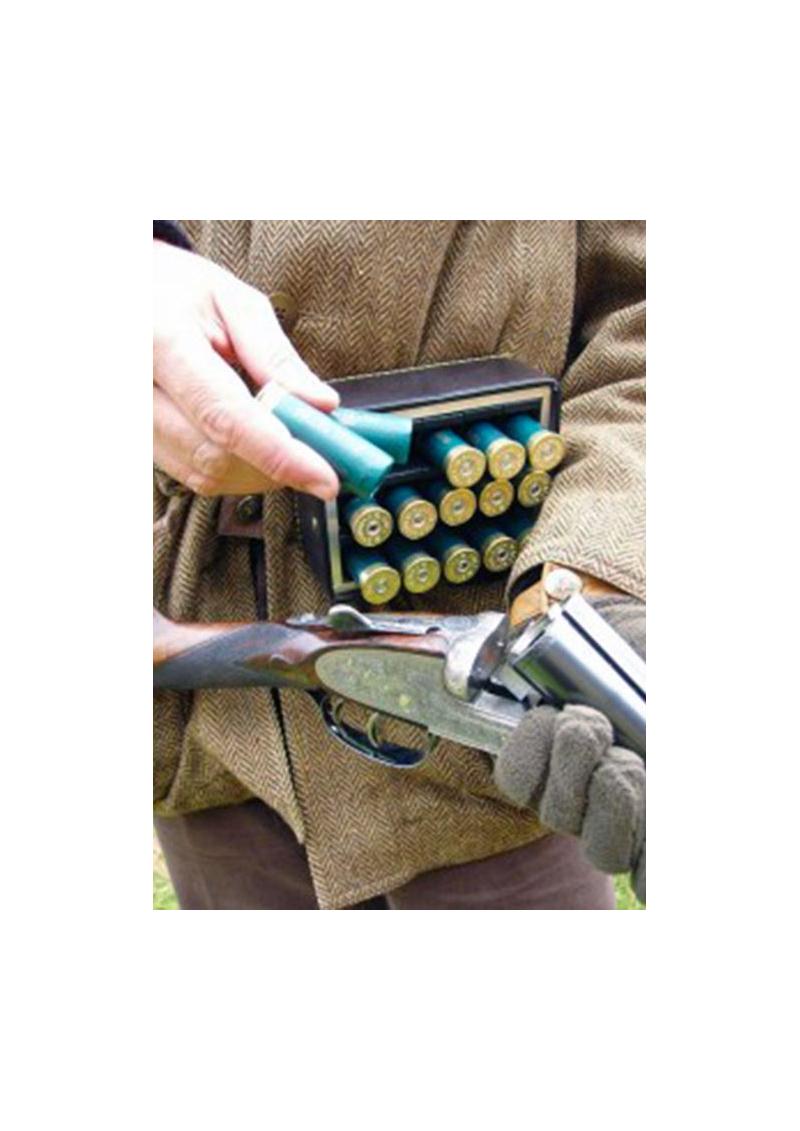 La cartouchière de chasse anglaise en cuir