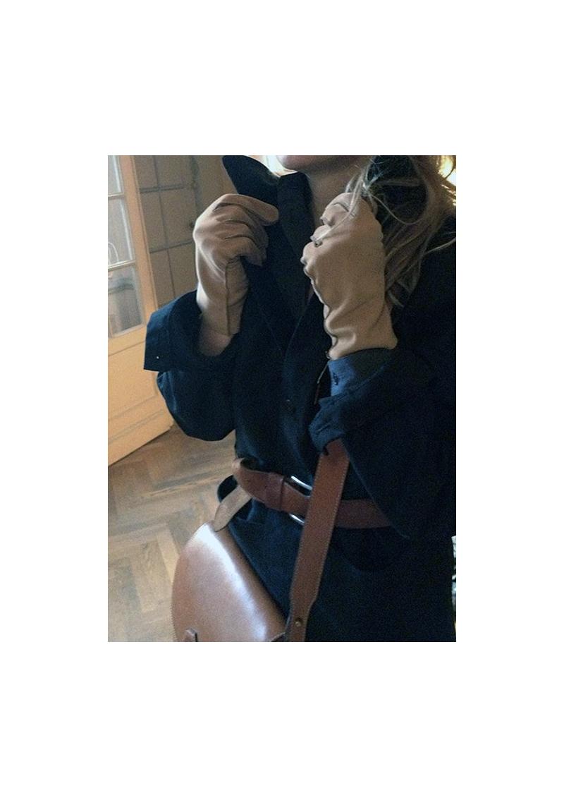 Les gants Saumur d'équitation CAUSSE