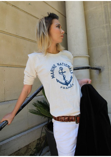 Le sweat de la Marine Nationale