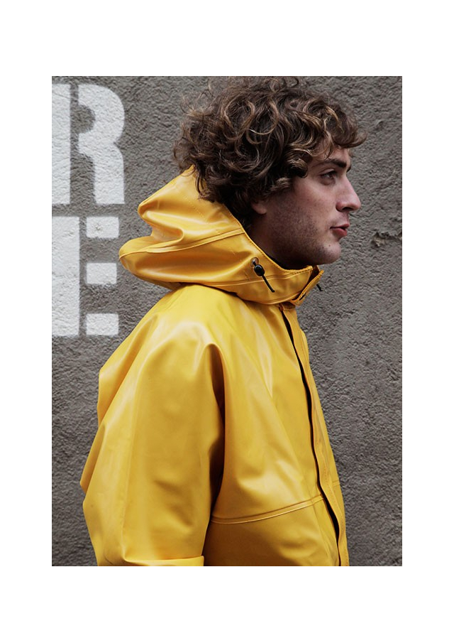 The Original Yellow Raincoat