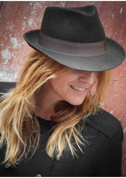 Chapeau de Gardian en feutre marron