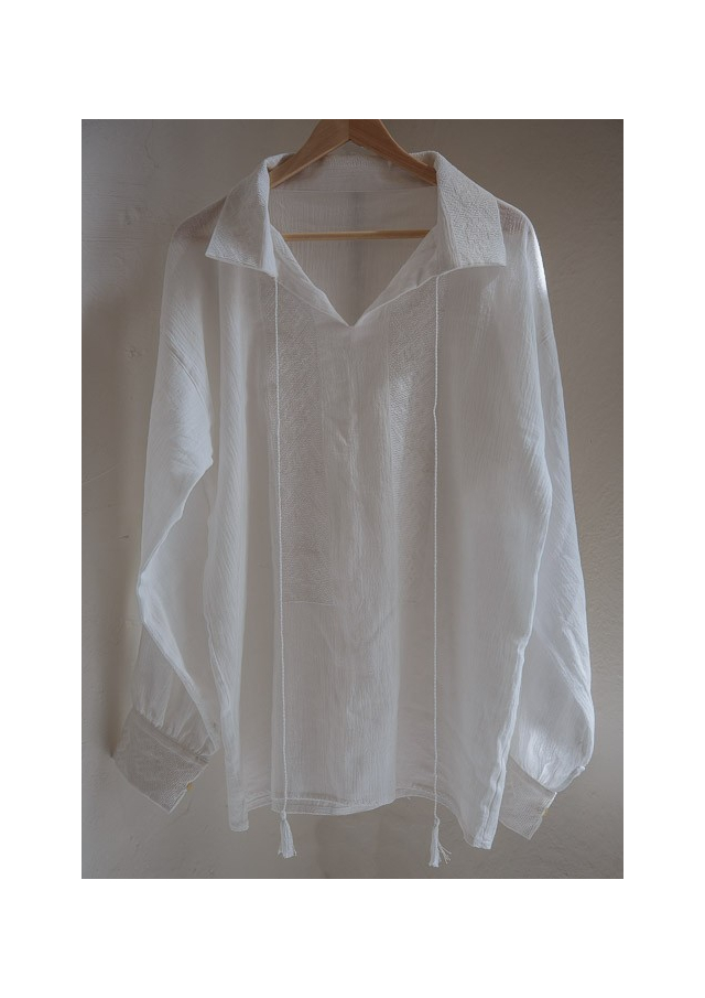 La blouse roumaine traditionnel