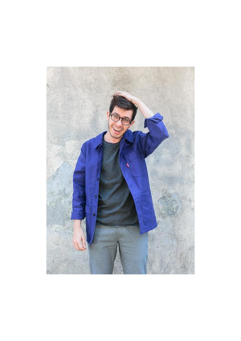 La veste de travail en coton moleskine