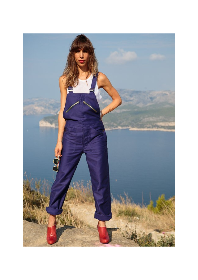Work Overalls in Coated Cotton