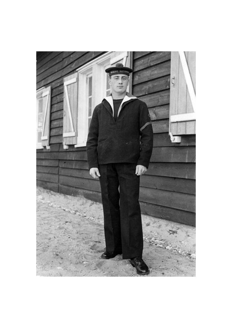 La Parka d'équipage de la marine nationale