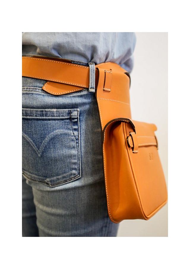 Le sac ceinture de chasse