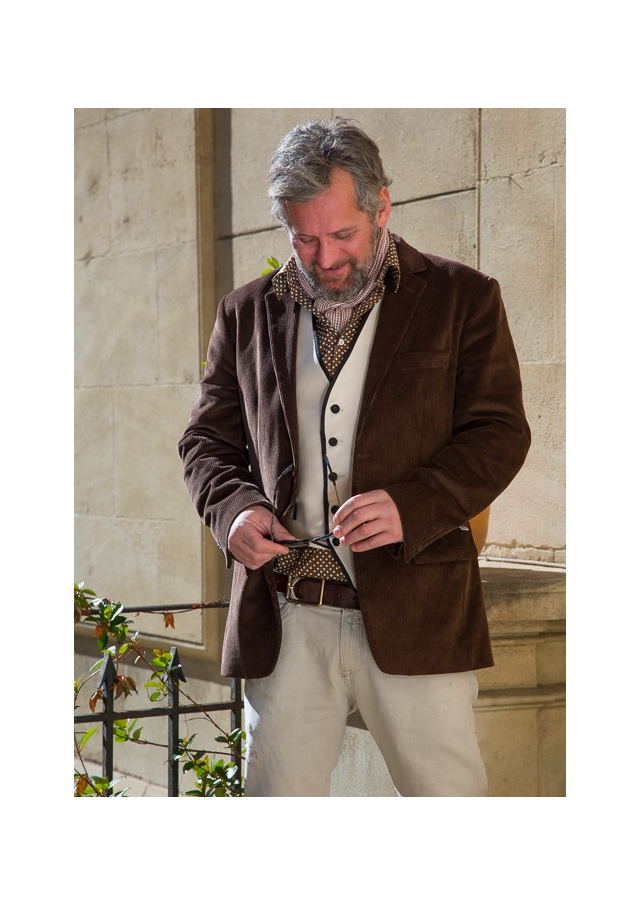 """La veste de """"gentleman farmer"""" du midi"""
