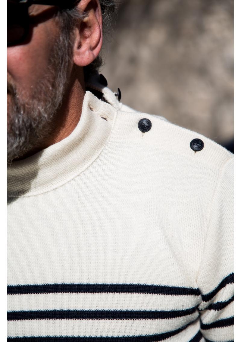 Le pull rayé du marin