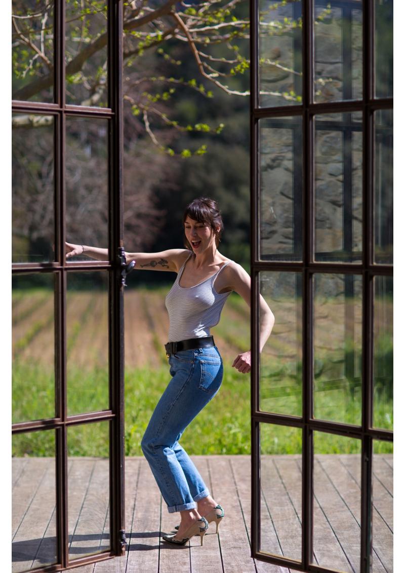 Le short en jean 501, vintage