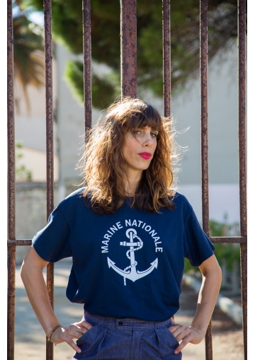 Le T-Shirt bleu Marine Nationale