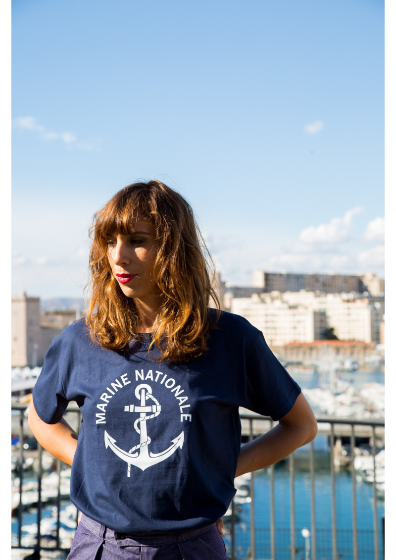 Le T-Shirt bleu Marine Nationale