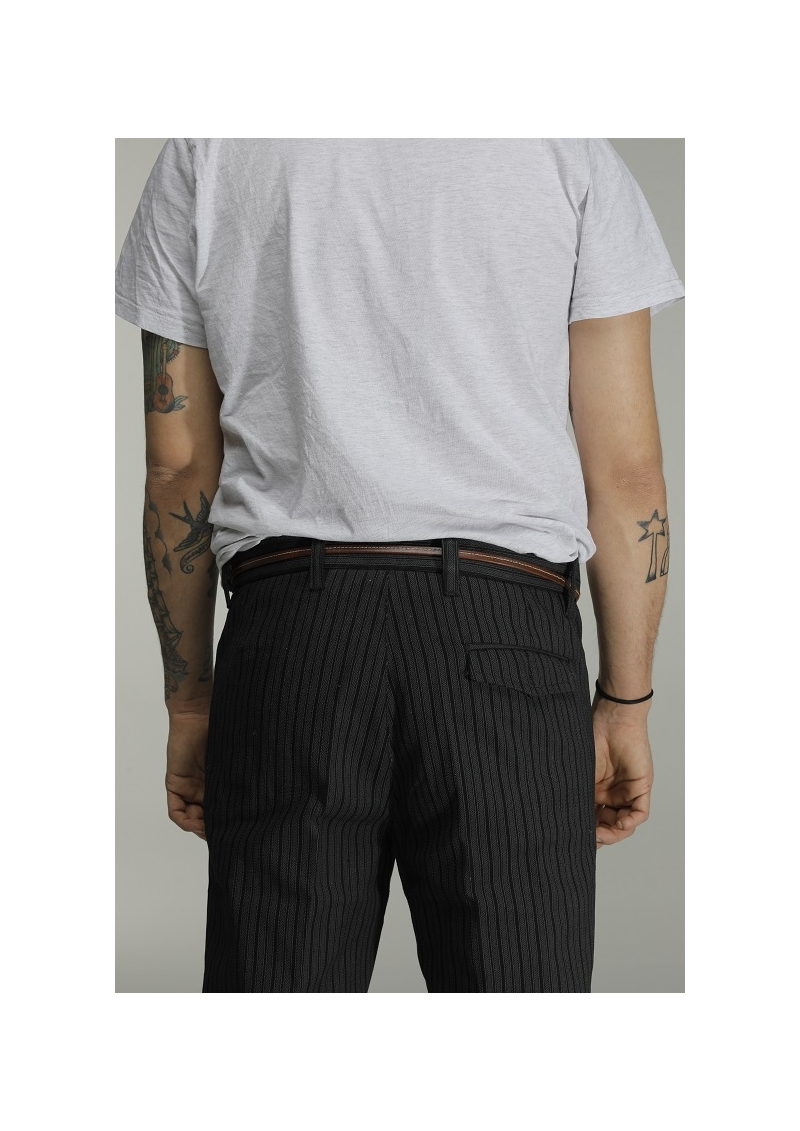 Pantalon rayé traditionnel Mistral