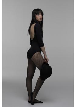 Short sleeves leotard ballet