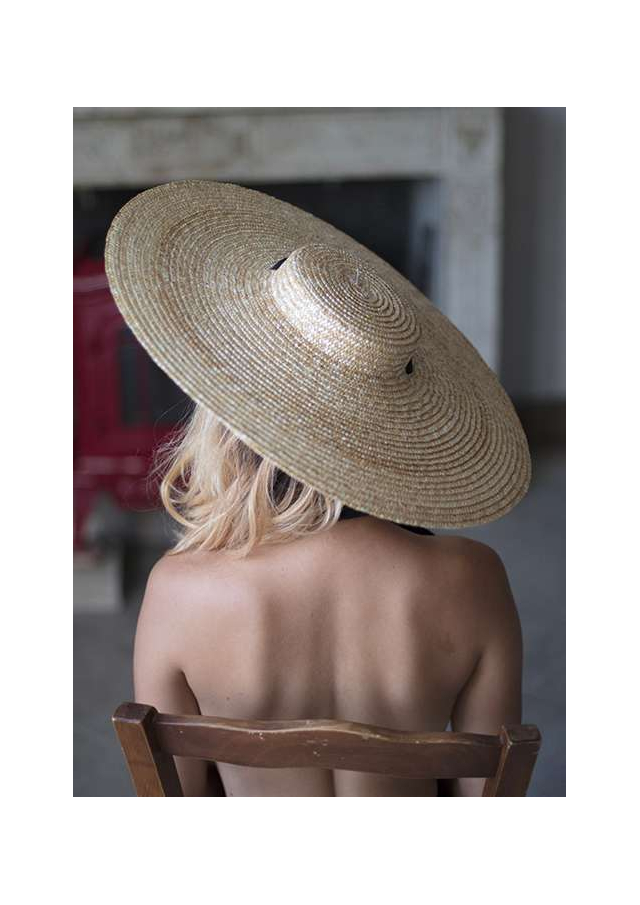 Provencal straw hat