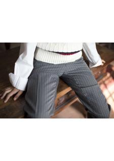 Pantalon rayé traditionnel Mistral