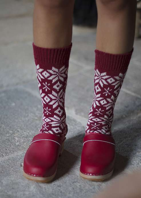 Traditional Swedish socks