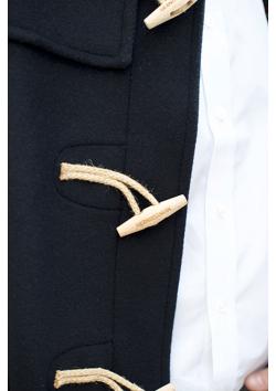 NEW Le vrai Duffle-Coats anglais attaches de bois