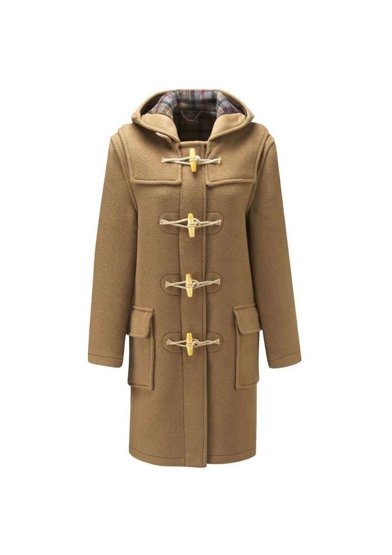 Le duffle coat anglais aux attaches de bois - femme