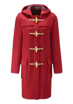 Original English Duffle coat with wooden toggles- Women