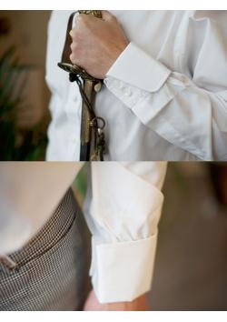 LA chemise blanche anglaise de référence, La Docteur No de chez Turnbull & Asser