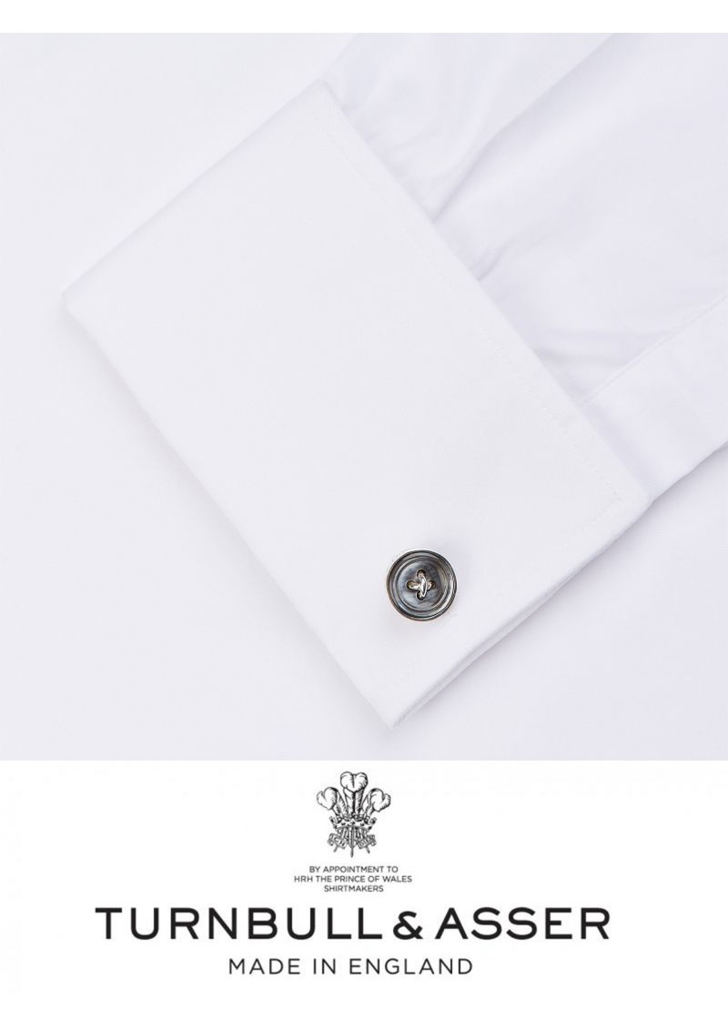 LA chemise de smoking anglaise, Turnbull & Asser