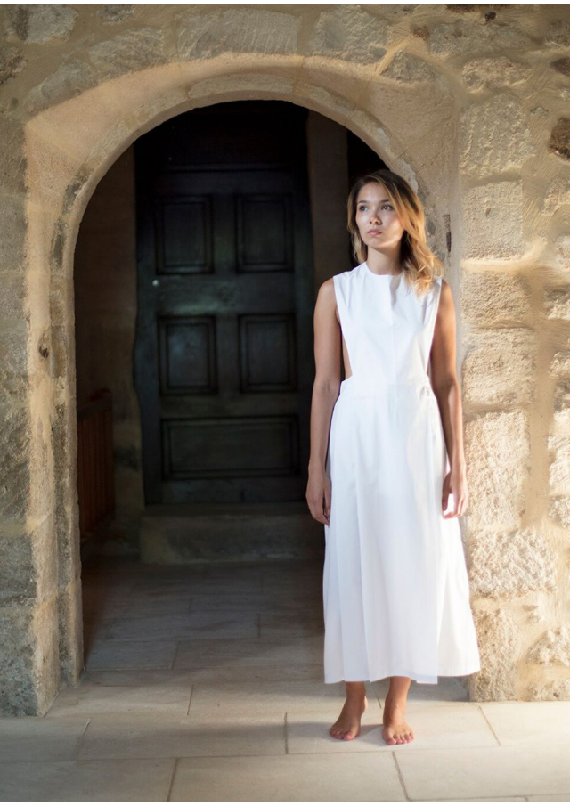 The Nun Pinafore Dress