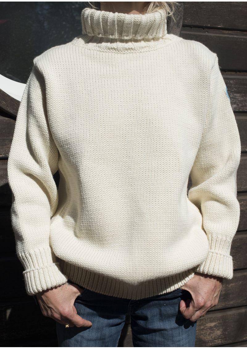 The English Submariner's Roll Neck Sweater