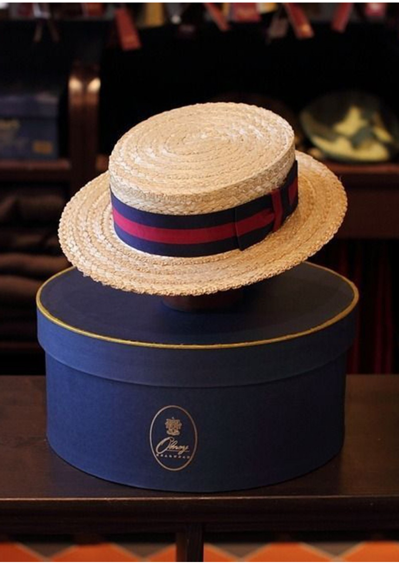 The Traditional English Straw Boater