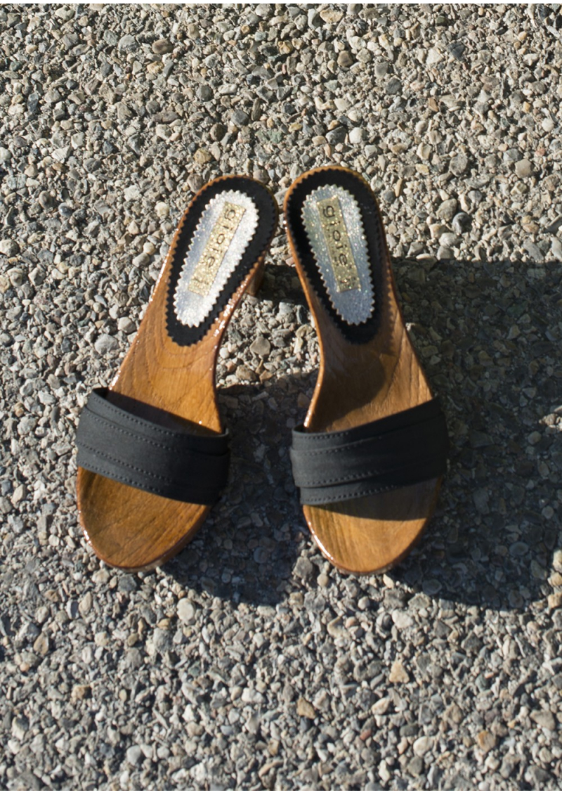 The Italian Wooden Clogs