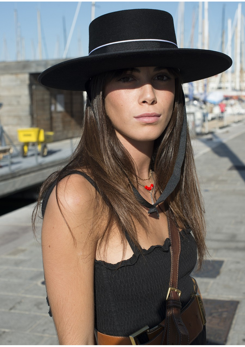 Le chapeau andalou traditionnel