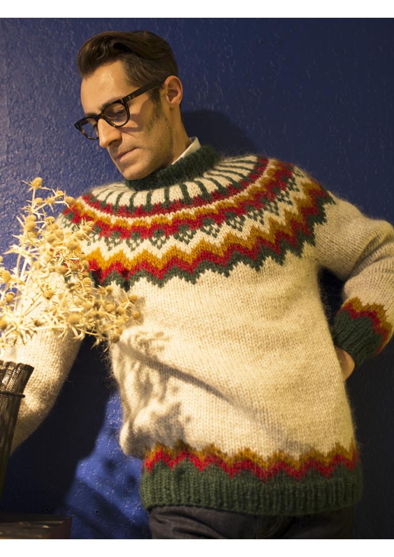 Le lopapeysa, le pull traditionnel de l'Islande