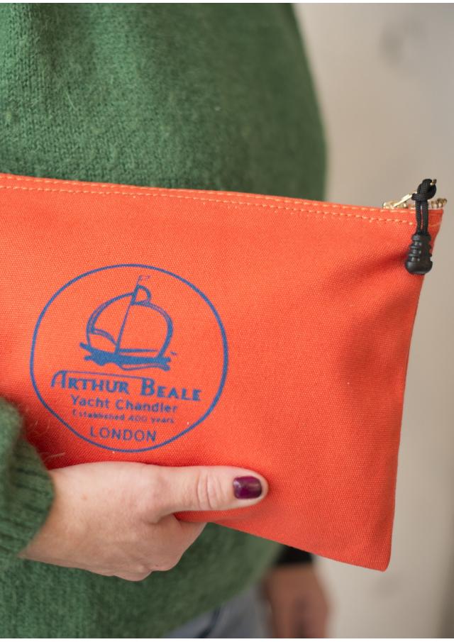 Sailor Zipper Bag