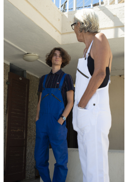 The Work Overalls in Coated Cotton