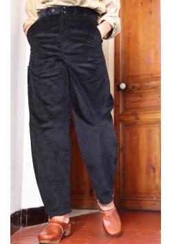 WORKWEAR Lafont carpenter/'s trousers  black corduroy  size 38