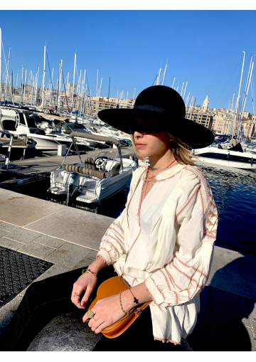 The Mexican blouse dress