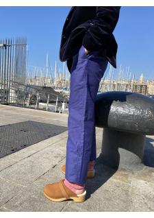 Le pantalon largeot Moleskine