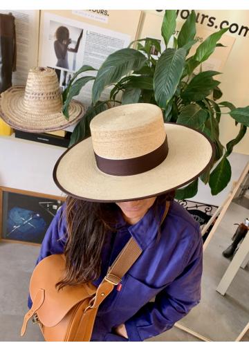 Le chapeau Cordobes en paille