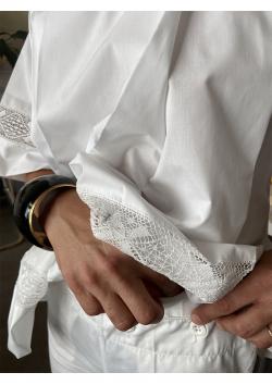 La chemise de surplis - longueur  65cm