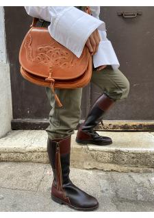 Les bottes d'équitation...