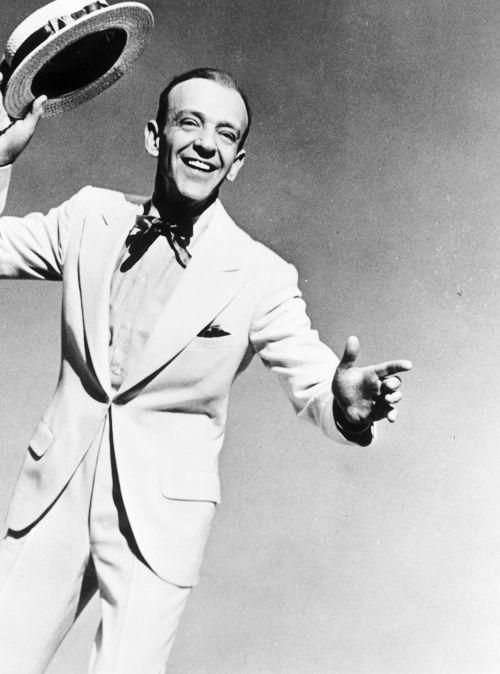 Fred Astaire en canotier