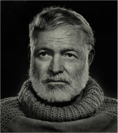 deTOUJOURS - Hemingway in roll neck sweater