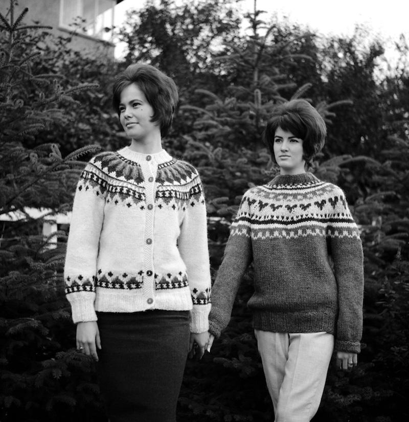 Lopapeysa années 60