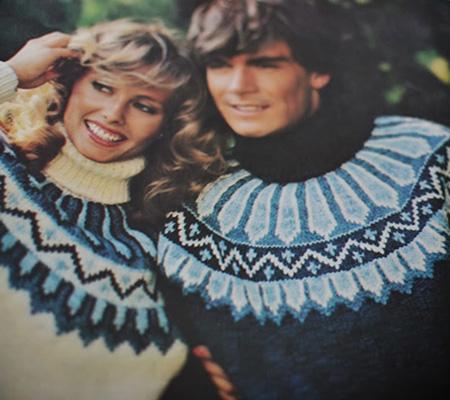 Lopapeysa années 80