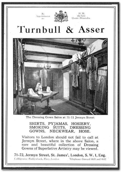 Turnbull & Asser, le chemisier historique