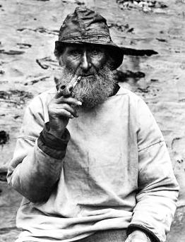 Pêcheur anglais en vareuse